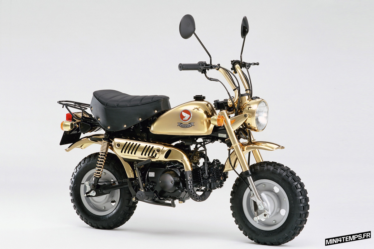 Honda Monkey Gold Limited Edition 1996 - mini4temps.fr
