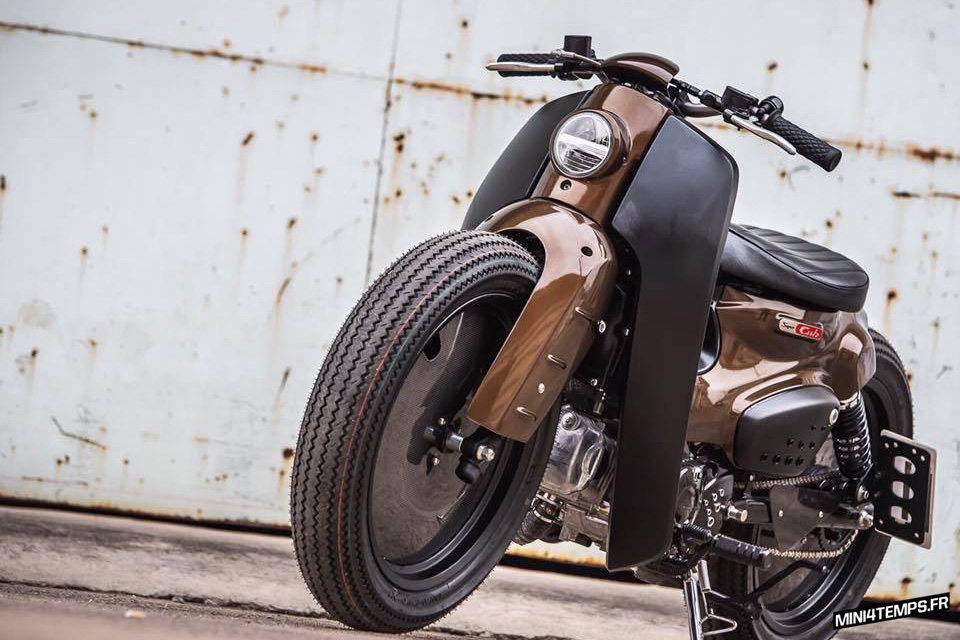 Le Badass Honda Cub de K-Speed - mini4temps
