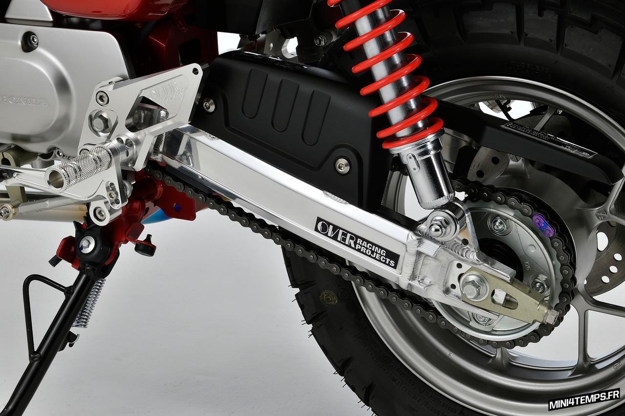 Bras oscillant OVER Racing pour Honda Monkey 125 - mini4temps.fr