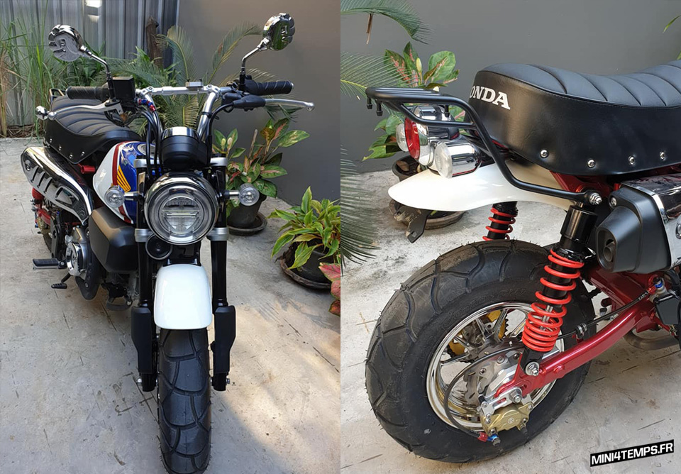 "Le Honda Monkey 125 ""FTR Edition"" de Namwan - mini4temps.fr"