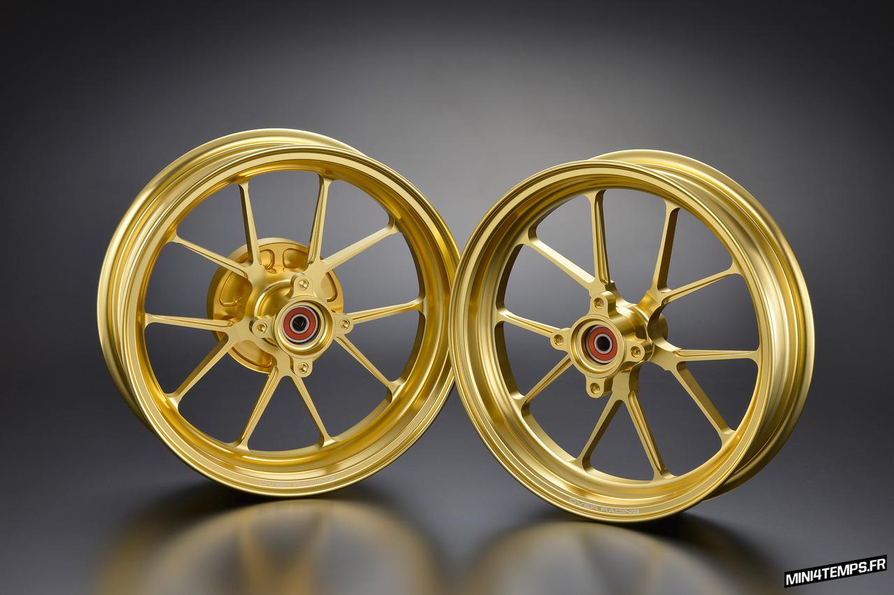 Jantes OVER Racing GP-TEN pour Honda Monkey 125 - mini4temps.fr