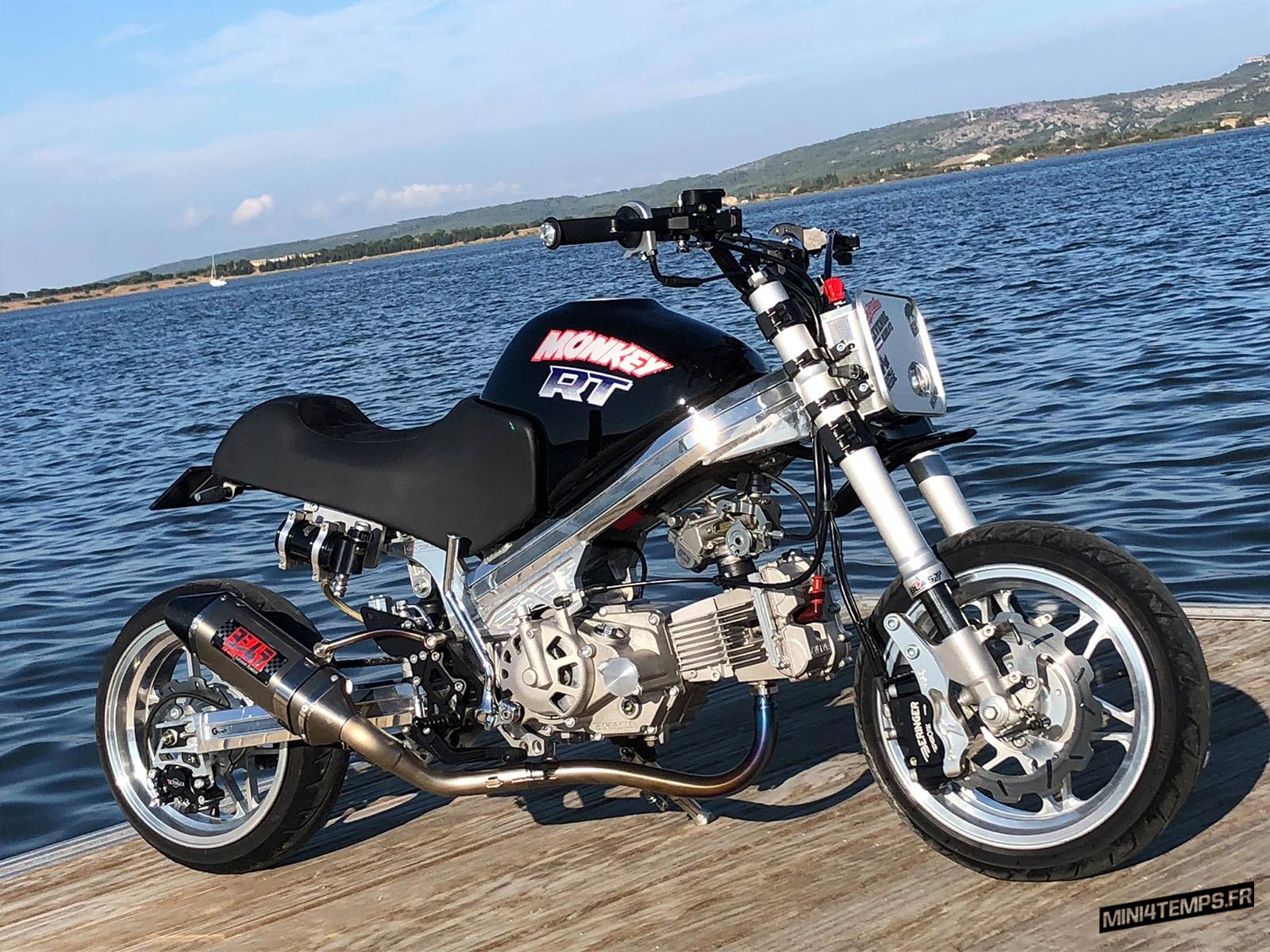 Honda Monkey R Blast Factory - mini4temps.fr