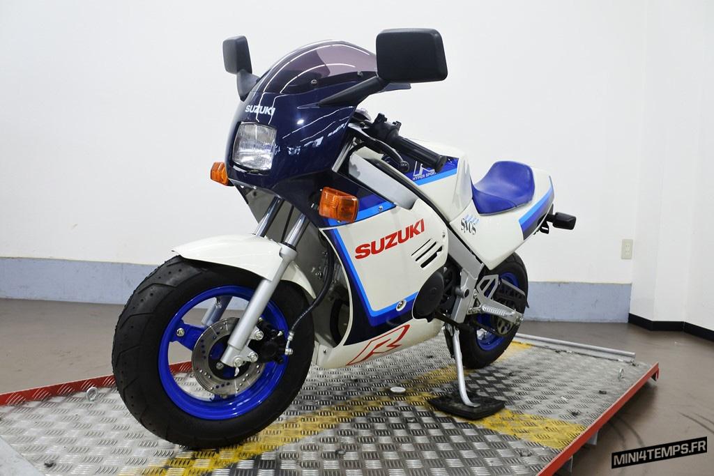 Suzuki Gag RB50 bleu et blanc - mini4temps.fr