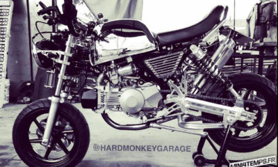 Le Le Honda Monkey de Che Way de Hard Monkey Garage - mini4temps.fr