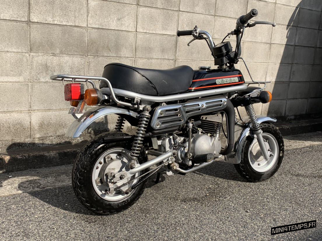 Le Suzuki PV50 de Fueng - mini4temps.fr