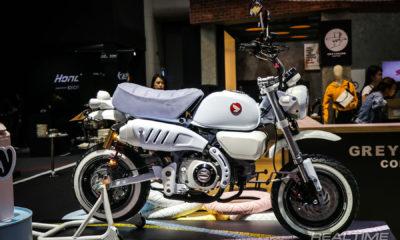Le Honda Monkey Pastel Milky Mint du BIMS 2019 - mini4temps.fr