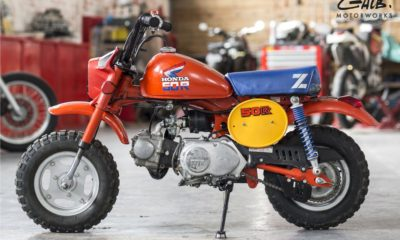 A vendre : Honda Monkey Z50R by Galb Motorworks - mini4temps.fr