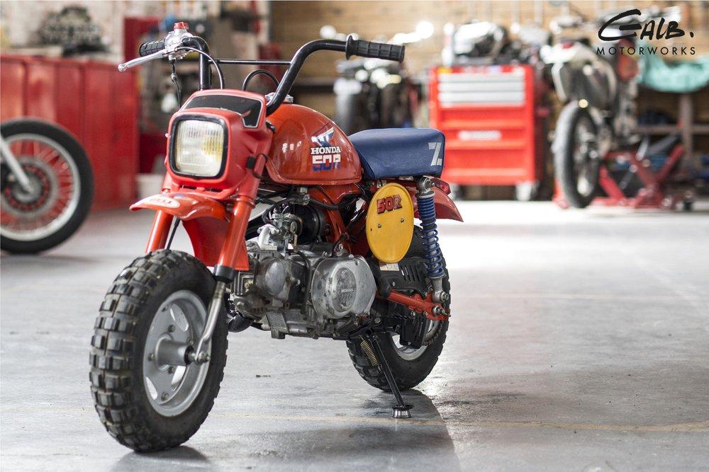 A vendre : Honda Monkey Z50R by Galb Motorworks - mini4temps.fr