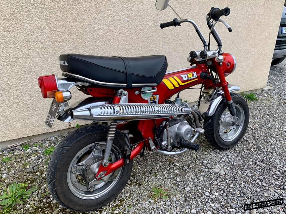 Honda Dax ST70 0T - mini4temps.fr