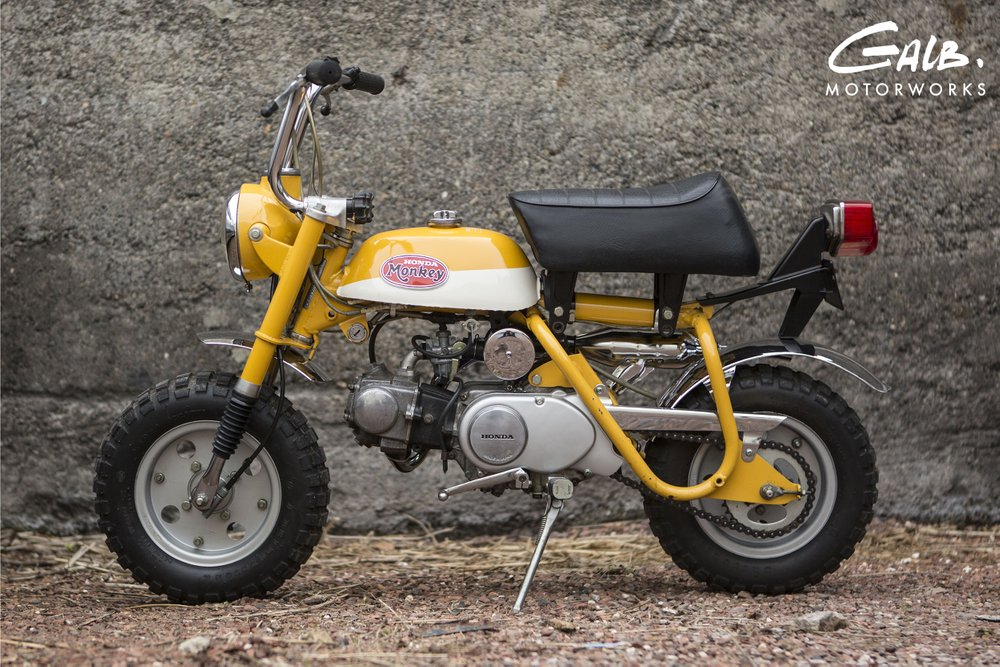 Honda Monkey Z50A de 73 à vendre chez Galb Motorworks - mini4temps.fr
