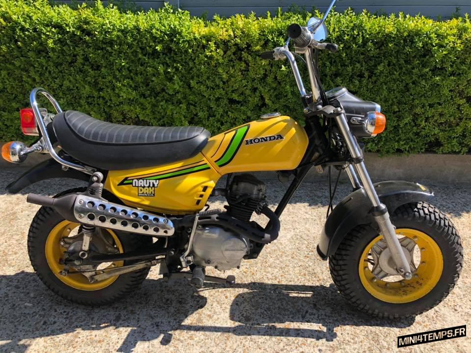 Honda Nauty Dax 50 de 1975 - mini4temps.fr