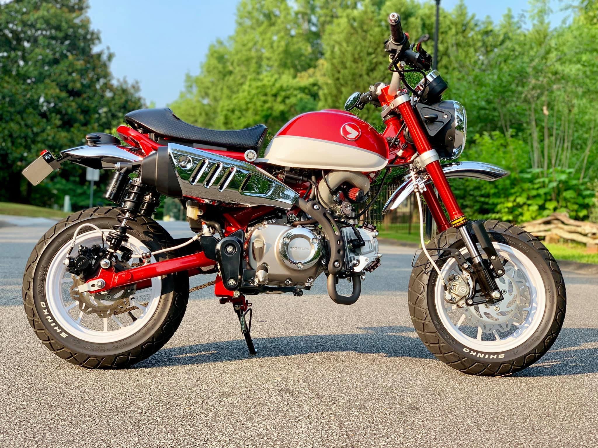 Le Honda Monkey 125 Fat&Low de Composimo - Mini4temps.fr
