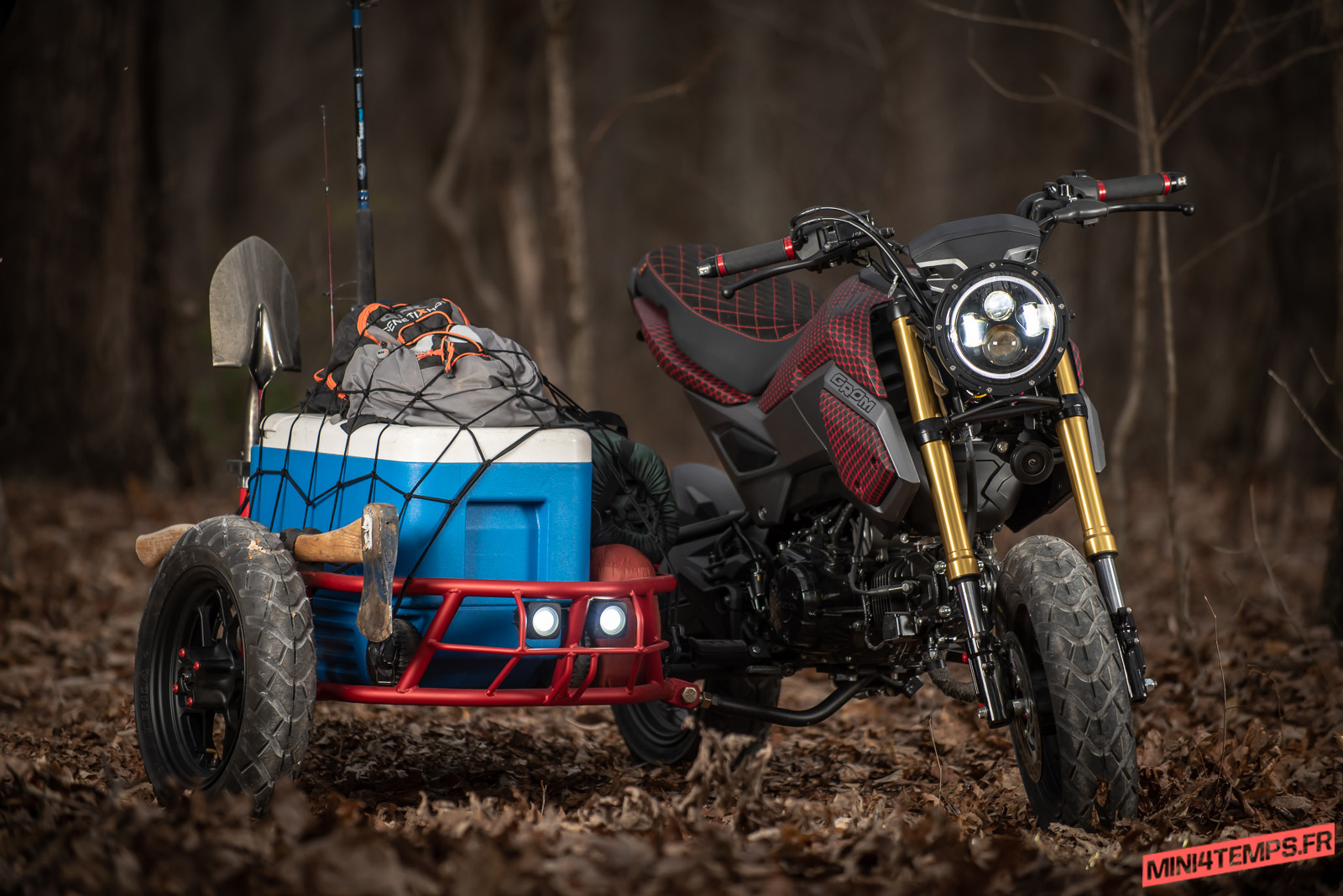 Le projet GUS Kit Side Car pour Honda MSX 125 d'Industrial Moto - mini4temps.fr