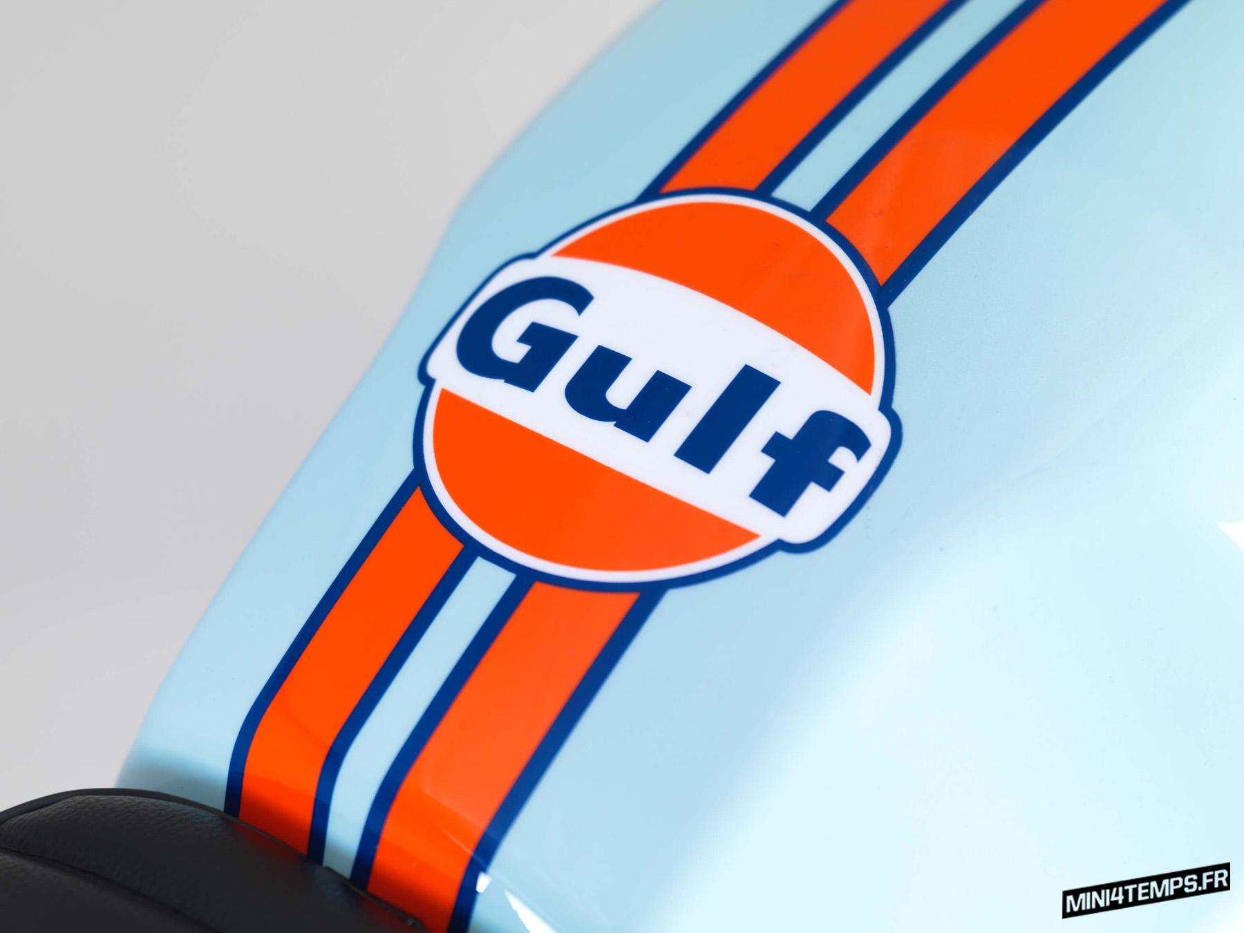 Bullit- Spirit 125 edition limitée Gulf 2019 - mini4temps.fr