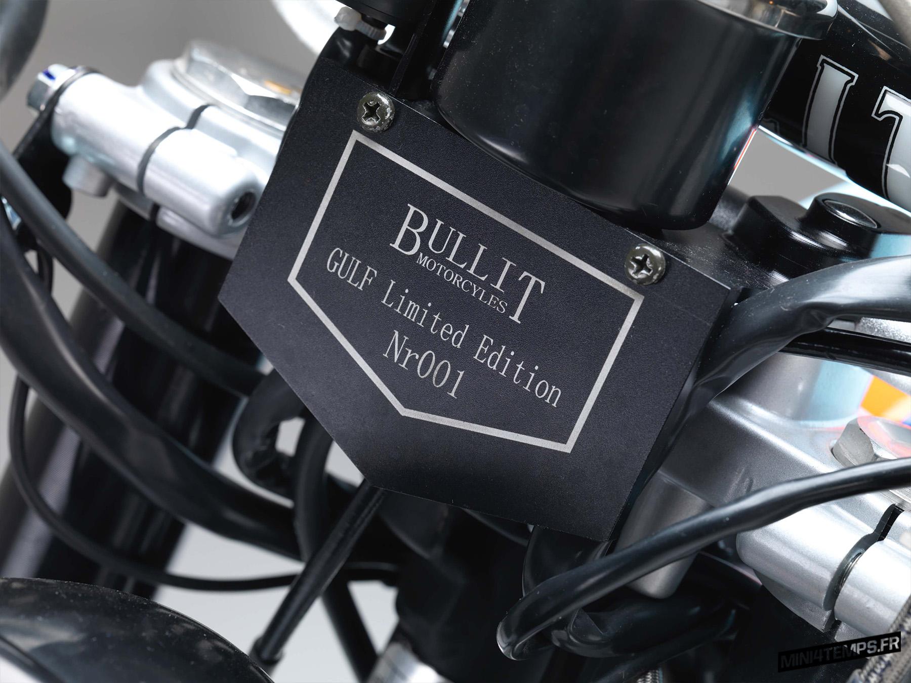 Bullit Hero 125 edition limitée Gulf 2019 - mini4temps.fr