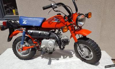 Le Honda Monkey Z50 J2 de Sam - mini4temps.fr