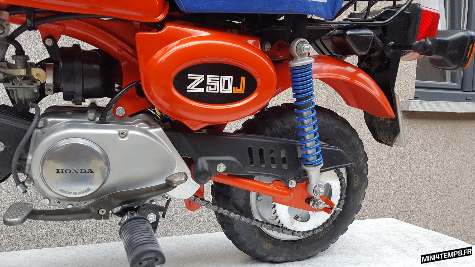 Le Honda Monkey Z50 J2 de Sam - mini4temps.fr