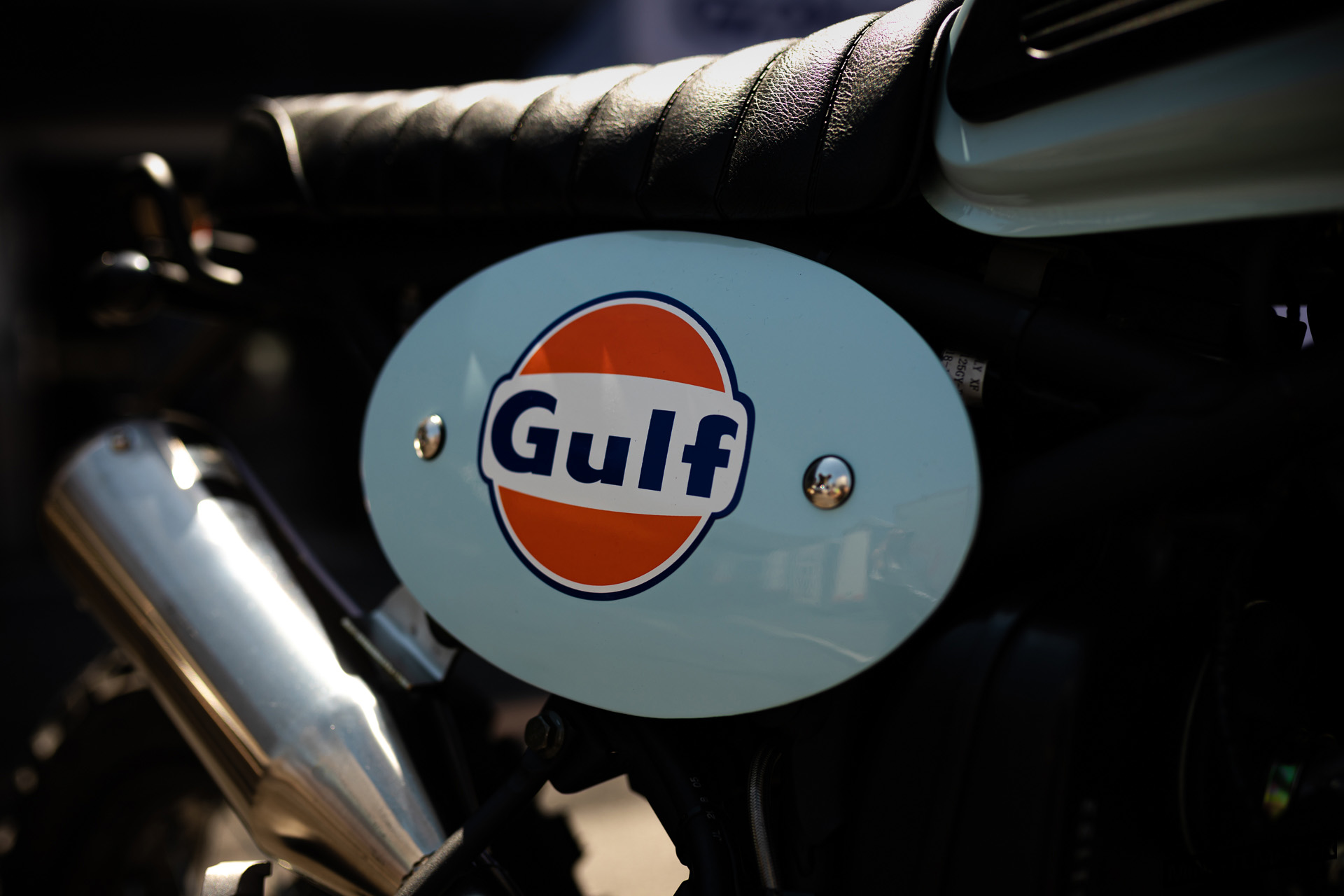 Bullit Hero 125 edition limitée Gulf 2019 de Azur Motos au Circuit Paul Ricard - mini4temps.fr