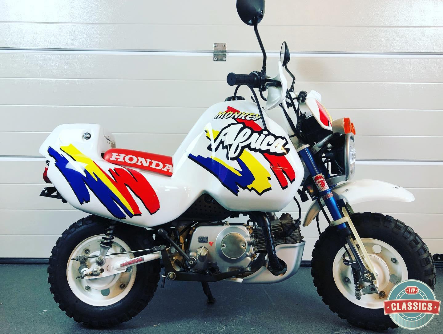 Le Honda Monkey Baja Africa de TVP Classics - mini4temps.fr
