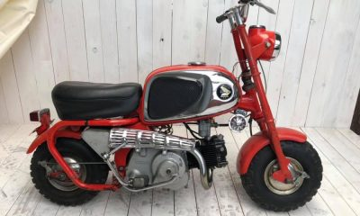 Le Honda Monkey CZ100 de David - mini4temps.fr