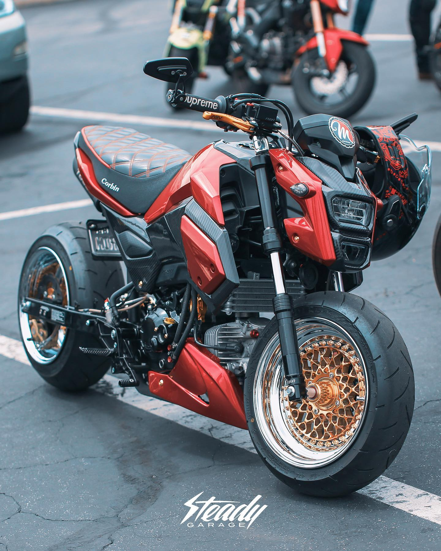 Honda MSX 125 / Honda GROM by Steady Garage - mini4temps.fr