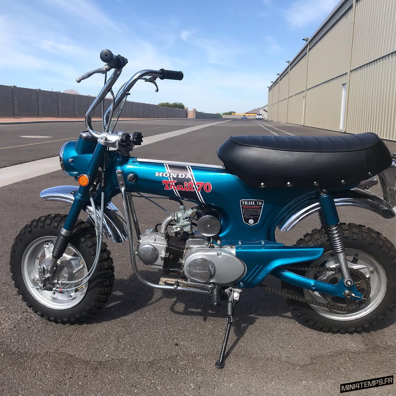 Le Honda Dax CT70 de Marquez Vintage Cycles - mini4temps.fr