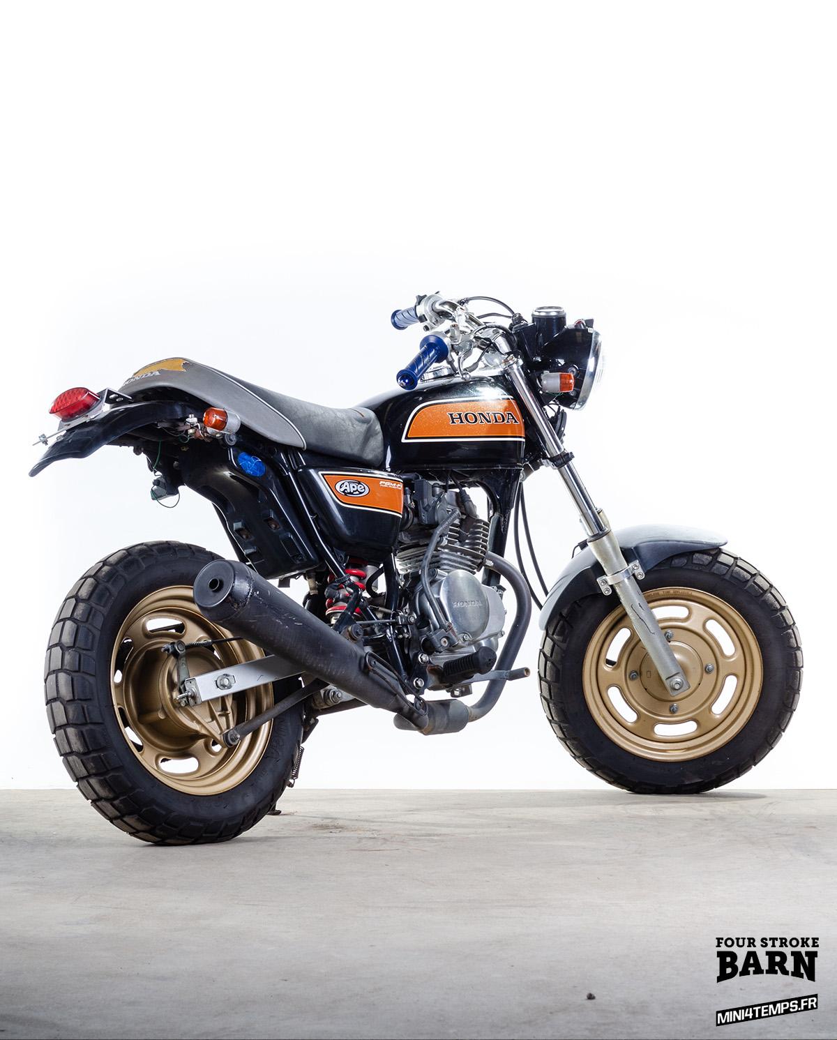A VENDRE : Honda Ape 50 et 100 chez Four Stroke Barn - mini4temps.fr