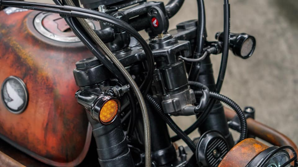 Honda Monkey 125 Rusty by K-Speed - mini4temps.fr