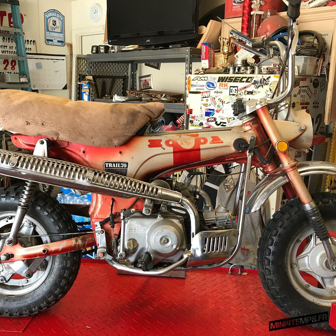 Restauration de Marquez Vintage Cycles - mini4temps.fr