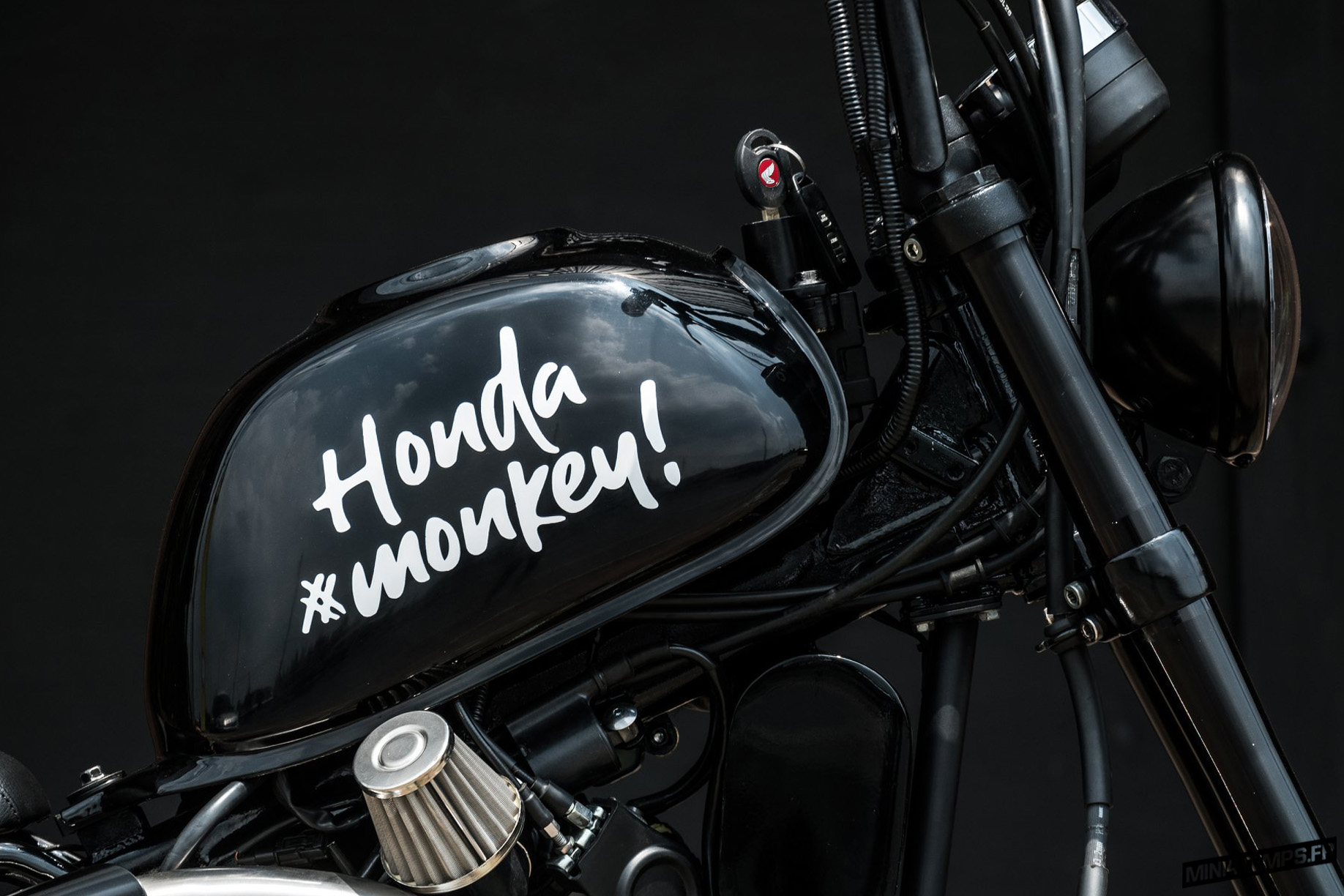Honda Monkey 125 JAAK! Project by Zeus Custom - mini4temps.fr