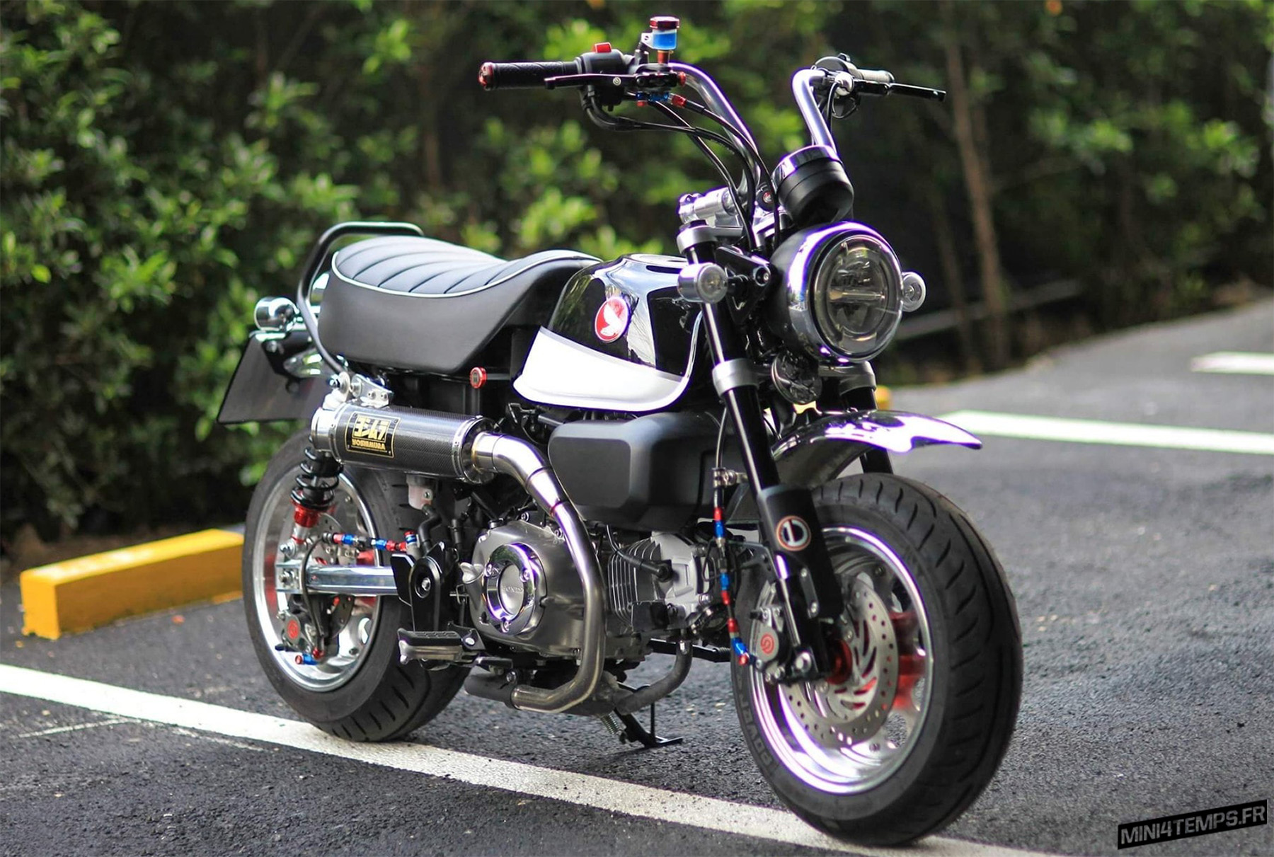 Le Honda Monkey 125 Black de X-Paint Shop - mini4temps.fr