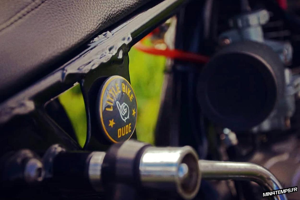 Le Honda CY80 de Nicolas - mini4temps.fr