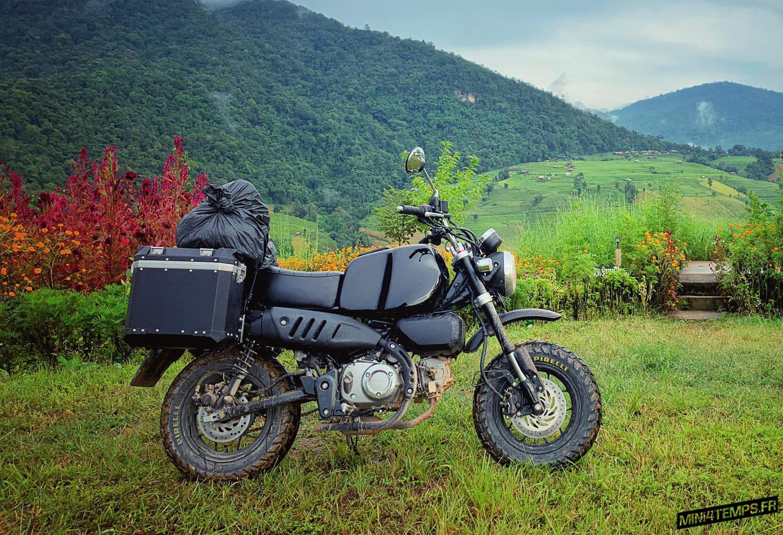 Road-trip à Chiang Mai avec le Honda Monkey 125 Black Kong - mini4temps.fr