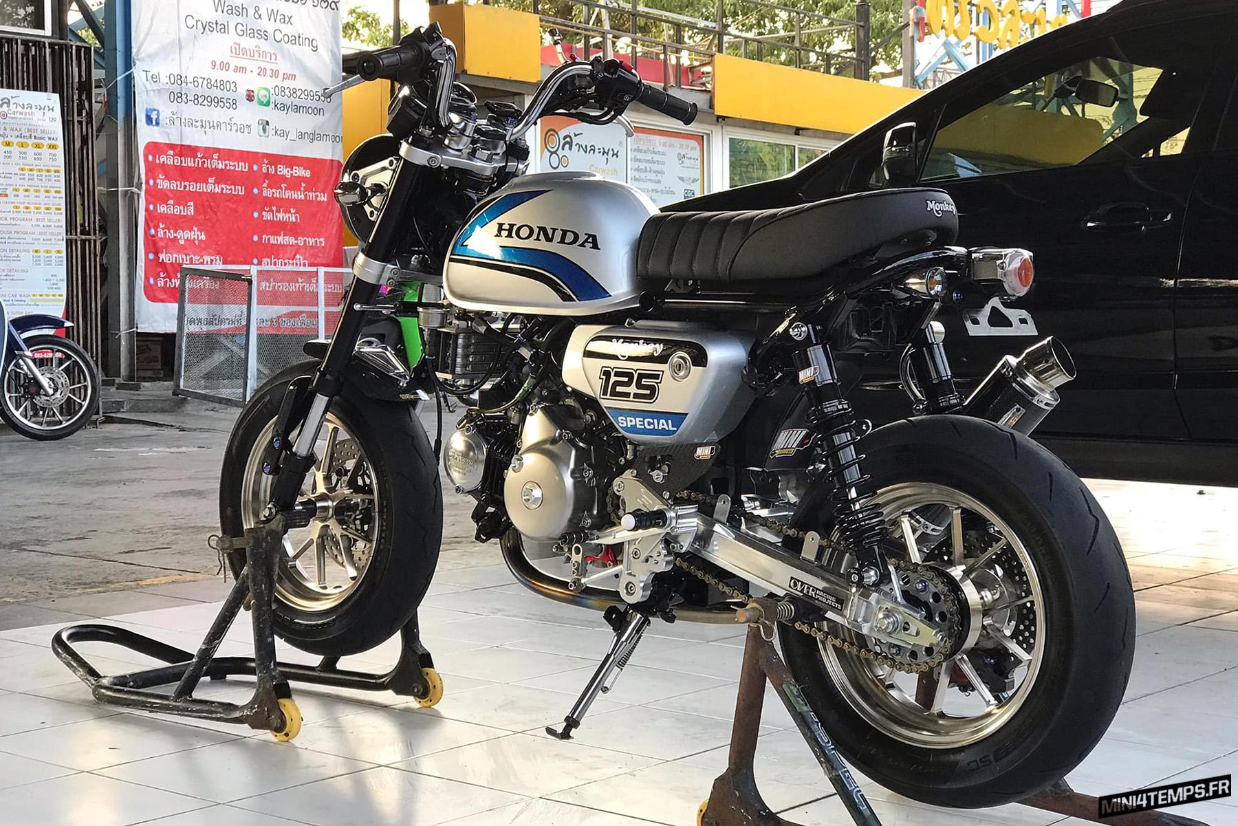 Honda Monkey 125 Freddie Spencer - mini4temps.fr