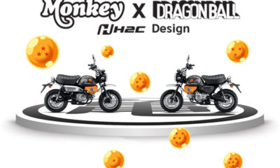 Honda Monkey Dragon Ball Z by Cub House - mini4temps.fr