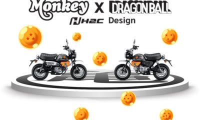Honda Monkey Dragon Ball Z by Cub House - mini4temps.fr