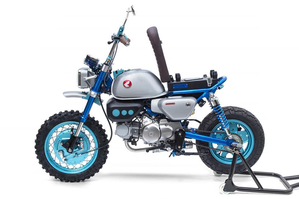 Honda Monkey 125 special - mini4temps.fr