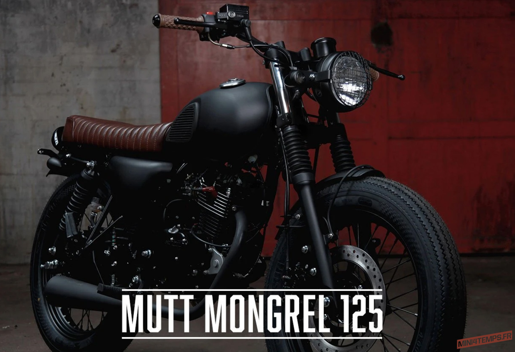 Mutt Motorcycles 125 cc Moto Néo-Rétro Café Racer - mini4temps.fr