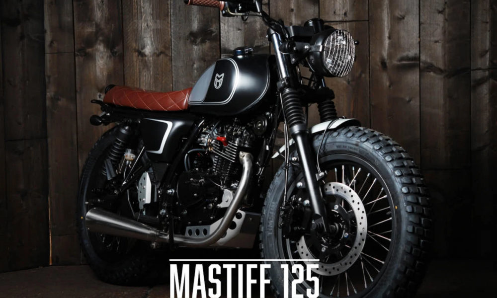 Mutt Motorcycles Mastiff 125 cc Moto Néo-Rétro - mini4temps.fr
