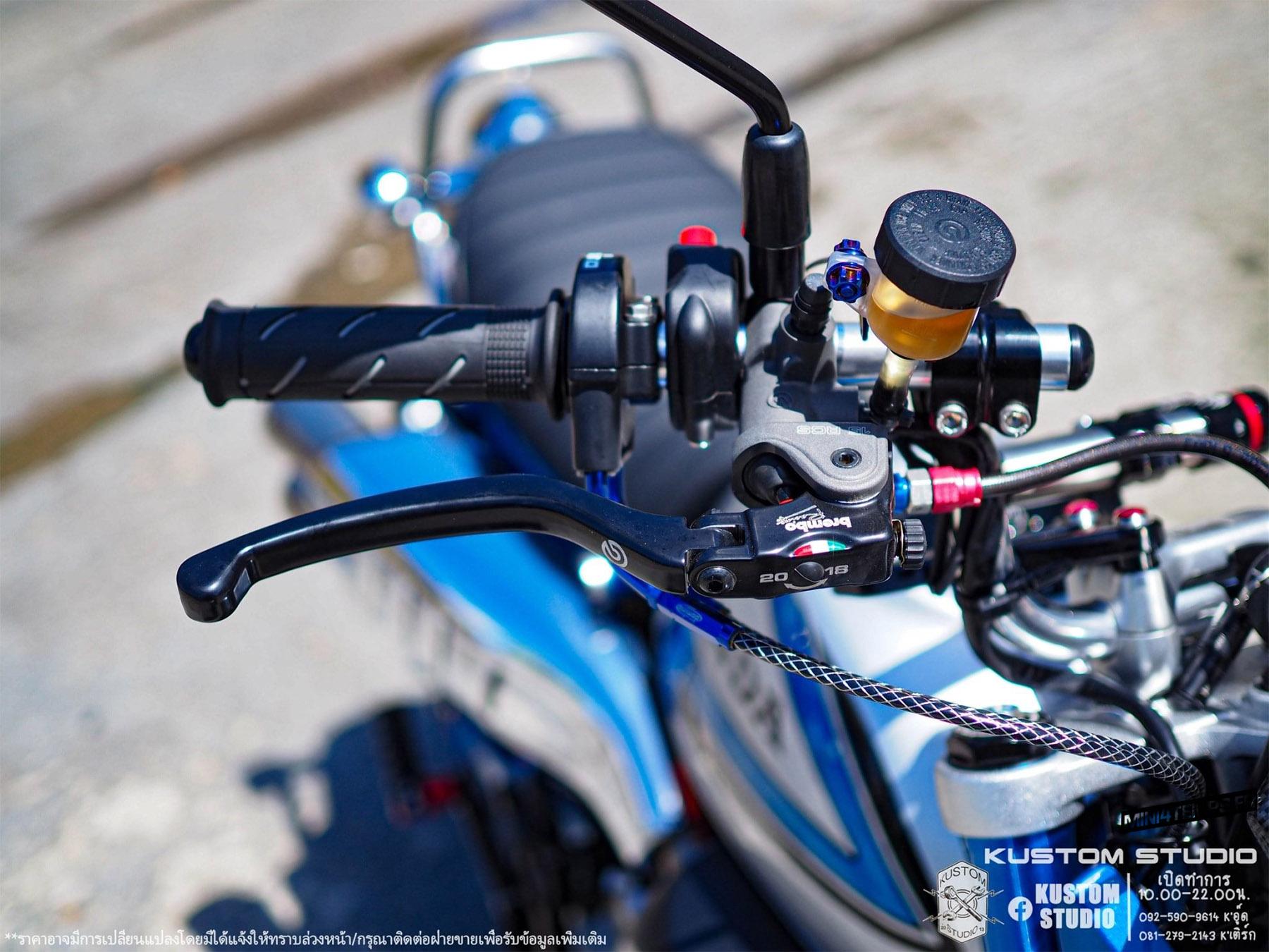 Honda Monkey 125 Freddie Spencer by Kustomstudio - mini4temps.fr