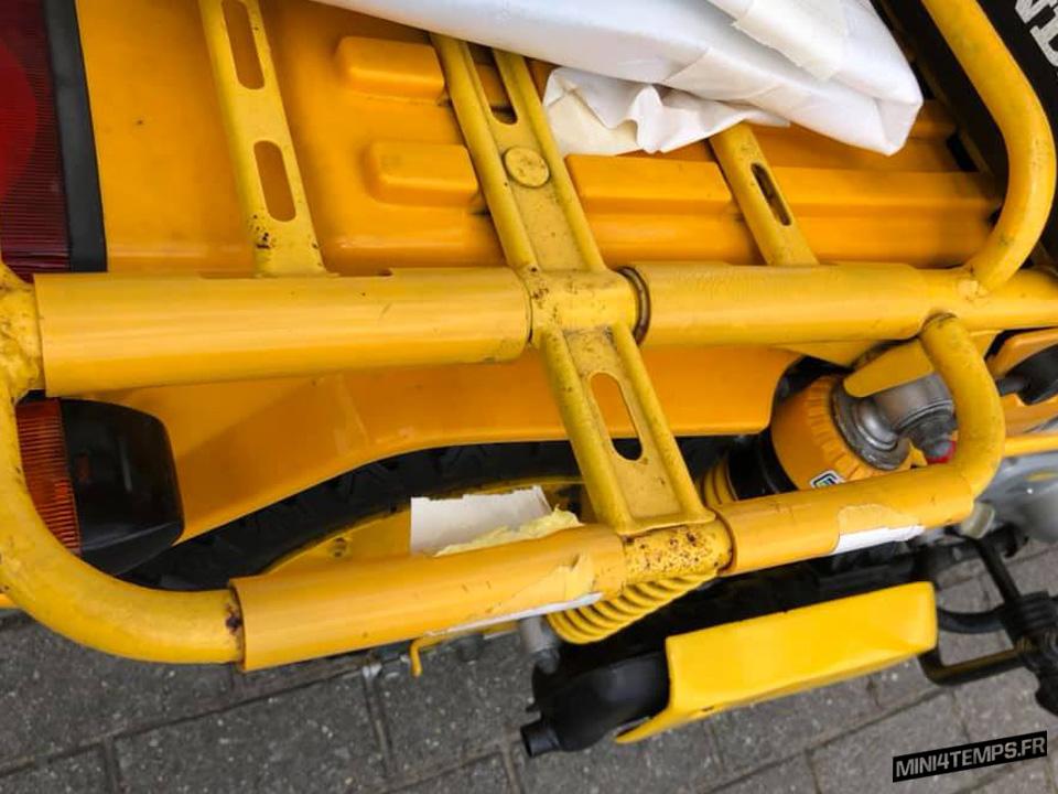 Honda Motra jaune 403 km à vendre - mini4temps.fr