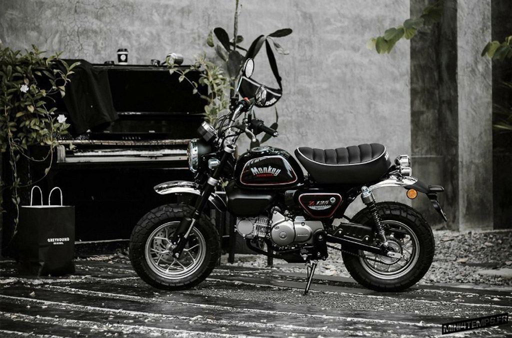 Honda Monkey The Immortal Black Edition by Cub House - mini4temps.fr