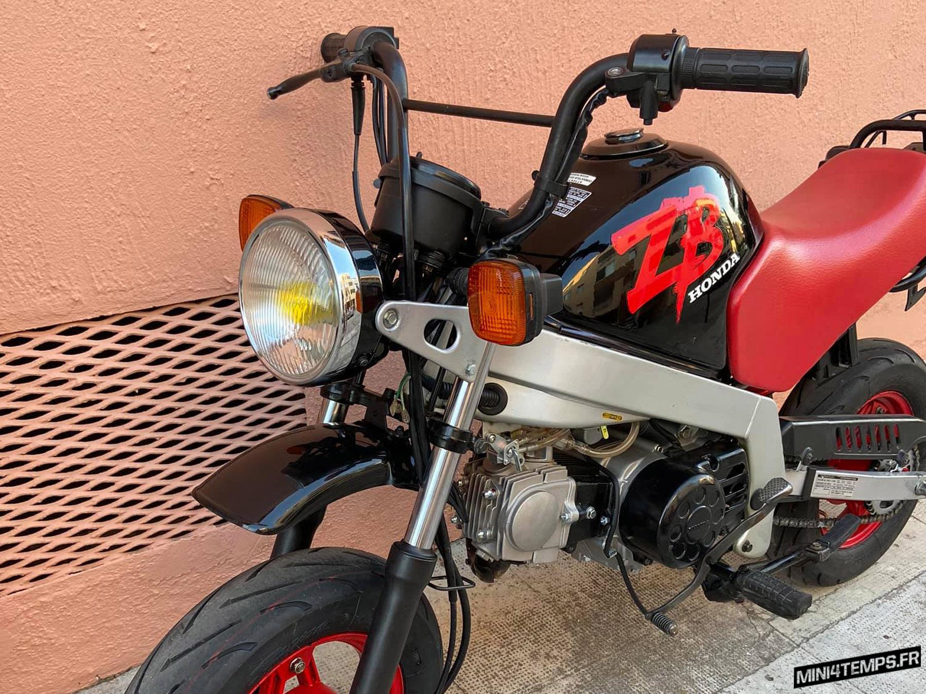 Le Honda ZB 50 de 1988 de Max - mini4temps.fr