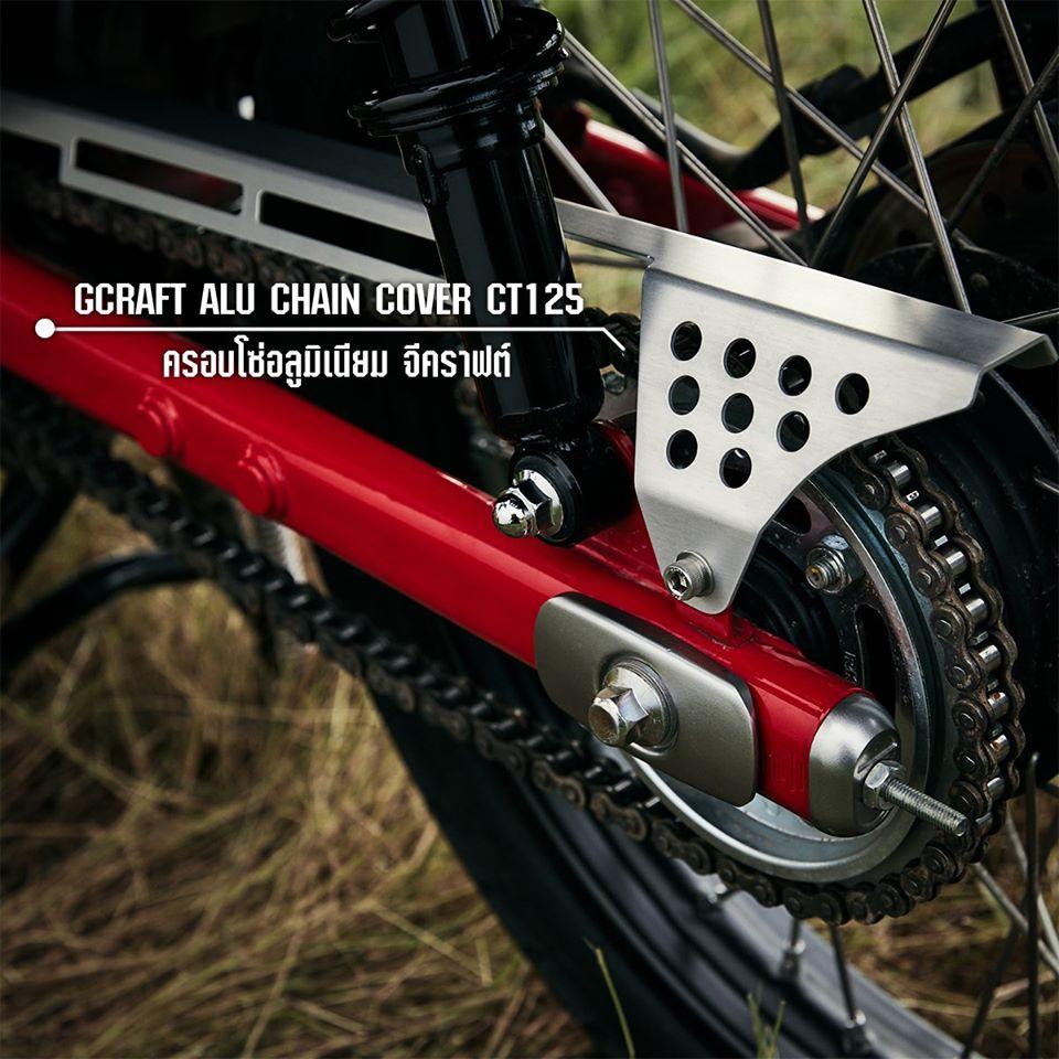 Accessoires G-Craft pour le Honda CT125 2020 - mini4temps.fr