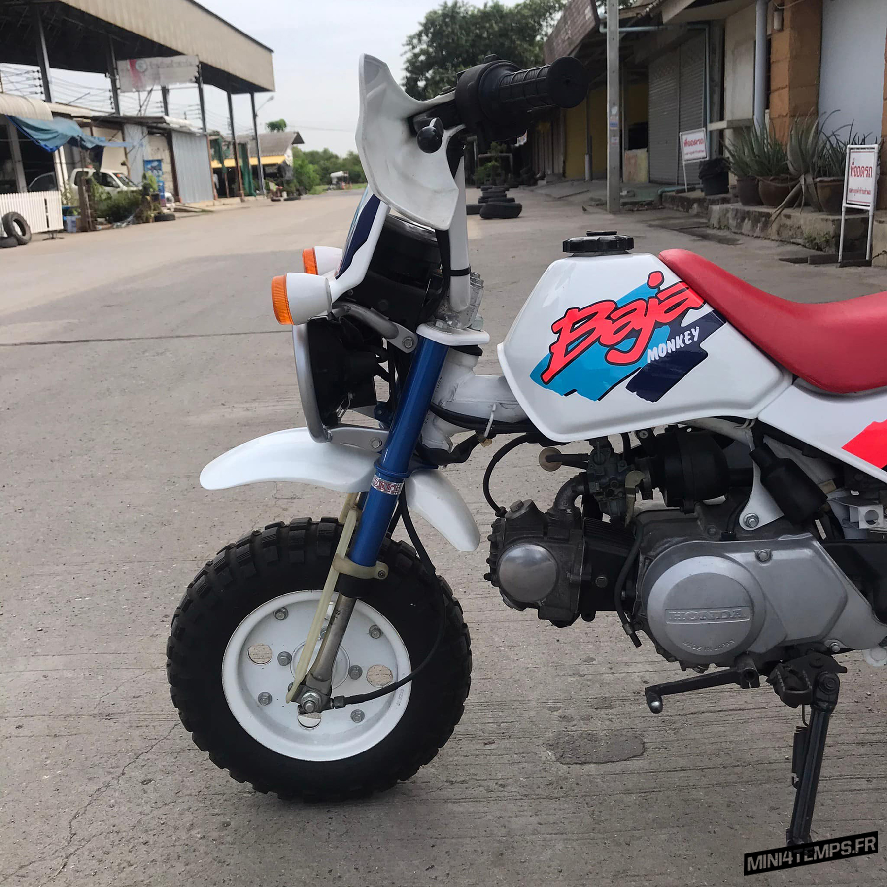 Awesome Honda Monkey Baja de 1992 - mini4temps.fr