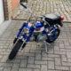 Honda Monkey Z50 Mini-Trail bleu - mini4temps.fr