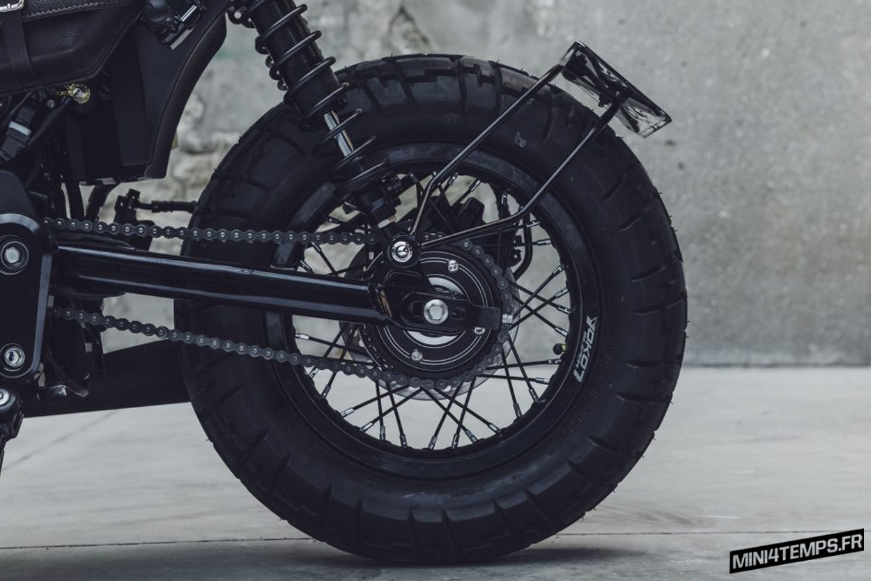 "Le Honda Monkey 125 ""Gorilla"" de Bunker Custom Cycles 