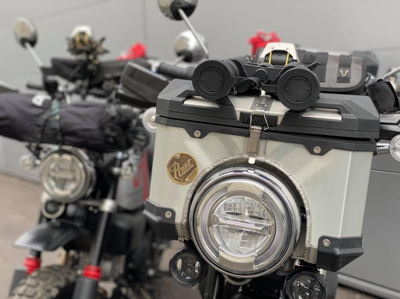 Laurent Cochet va faire un road-trip en Honda Monkey 125 - Mini4temps.fr