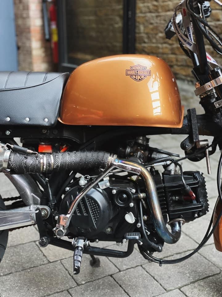 Honda Monkey Hardly Rideable - Mini4temps.fr