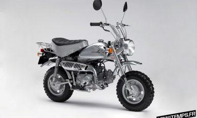 Honda Monkey Chrome Edition - mini4temps.fr